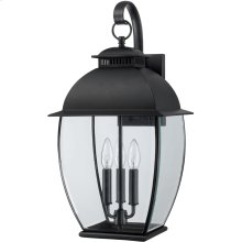 Bain Outdoor Lantern in Mystic Black