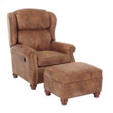 Bentley Press Back Chair & Ottoman