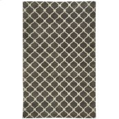 Fence Charcoal Hand Knotted Rugs