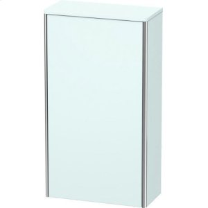 Semi-tall Cabinet, Light Blue Matt Decor