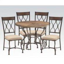 Hansa 5pc Dining Table Set