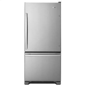 29-inch Wide Bottom-Freezer Refrigerator with EasyFreezer Pull-Out Drawer -- 18 cu. ft. Capacity - Stainless Steel - STAINLESS STEEL