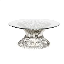 Stainless Coffee Table Base Only