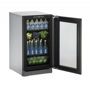 U-Line2000 Series 45 Cm Drinks Cabinet With Integrated Frame Finish and Field Reversible Door Swing (220-240 Volts / 50 Hz)