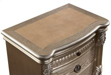 Bellevue Nightstand with Leather Top