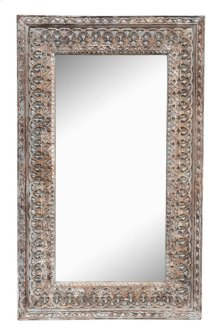 Wd Crvd Mirror Frame