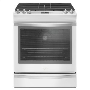 Whirlpool5.8 Cu. Ft. Slide-In Gas Range with EZ-2-Lift Hinged Grates White Ice