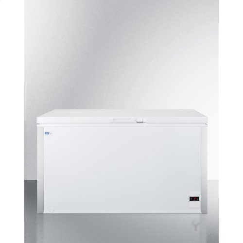Commercially Listed 13.1 CU.FT. Frost-free Chest Refrigerator In White With Digital Thermostat for General Purpose Applications; Replaces Scfr120