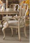 Dining Room Wakefield White Splatback Arm Chair