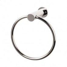 Hopewell Bath Ring - Polished Nickel