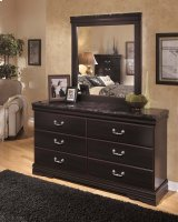 Esmarelda - Dark Merlot 2 Piece Bedroom Set Product Image