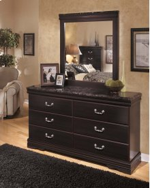 Esmarelda - Dark Merlot 2 Piece Bedroom Set