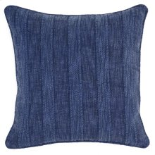 SLD Heirloom Linen Indigo22x22