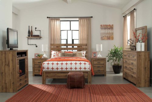 Cinrey - Medium Brown 2 Piece Bedroom Set