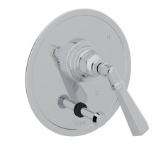 Polished Chrome San Giovanni Pressure Balance Trim With Diverter with Metal Lever
