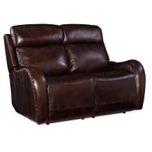 Living Room Chambers Power Recliner Loveseat w/ Power Headrest