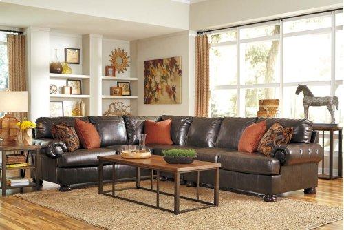 3 Piece Sectional w/ Left Arm Facing Sofa