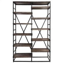 Evan Double Bookshelf