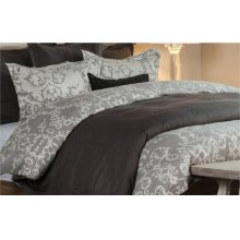Lido Jacquard Charcoal 3Pc Queen Set