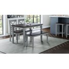 Asbury Park 4-pack - Table With 2 Chairs and Bench - Grey /autumn Product Image