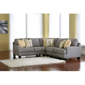 Ashley Furniture Chamberly - Alloy 3 Piece Sectional
