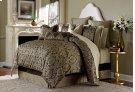 9 Pc Queen Comforter Set Bronze Product Image