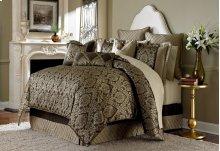 9 Pc Queen Comforter Set Bronze