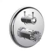 """7096tt-tm - Trim (shared Function) 1/2"""" Thermostatic Trim With 2-way Diverter in Polished Chrome"""