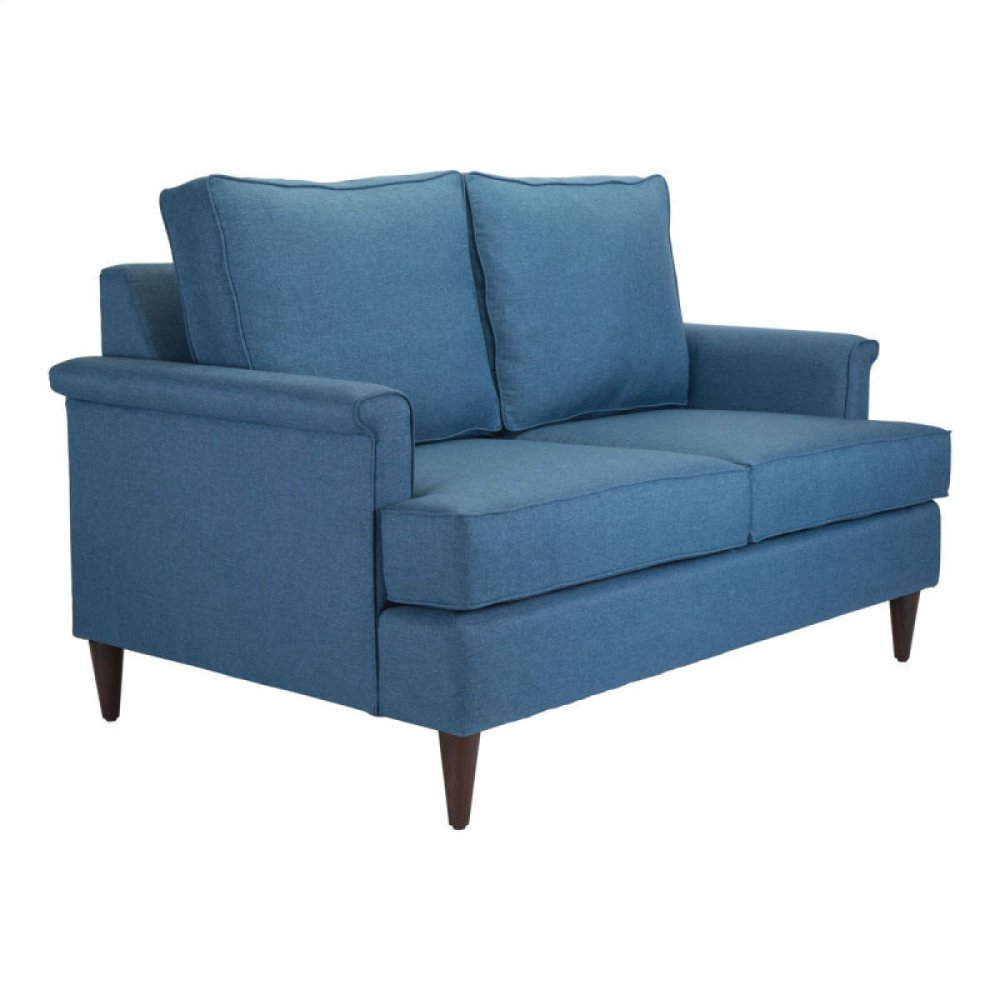 Campbell Loveseat Blue