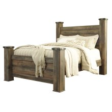 Trinell - Brown 4 Piece Bed Set (Queen)