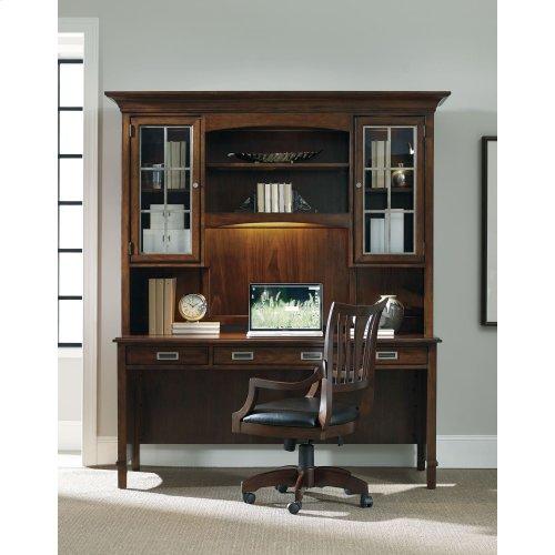Home Office Latitude Computer Credenza/Desk Hutch