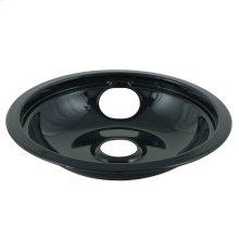 "8"" Replacement Burner Bowls - Black Porcelain"