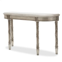 Giselle Console Table Platinum
