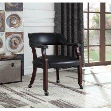 Modern Black Guest Chair