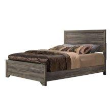 Asheville Driftwood Queen Panel Bed