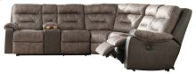Hacklesbury - Brownstone 3 Piece Sectional