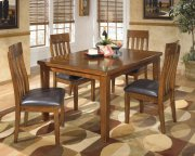 Ralene - Medium Brown 5 Piece Dining Room Set Product Image