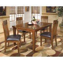 Ralene - Medium Brown 5 Piece Dining Room Set