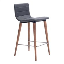 Jericho Counter Chair Gray