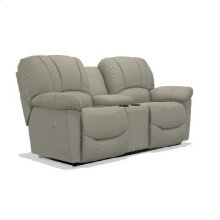 Hayes Power Reclining Loveseat w/ Headrest & Console