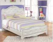 Zarollina - Silver 2 Piece Bed Set (Full)