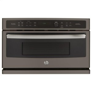 GE Profile™ 30 in. Single Wall Oven with Advantium® Technology - FINGERPRINT RESISTANT SLATE