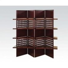 Trudy Dark Brown Wood Screen