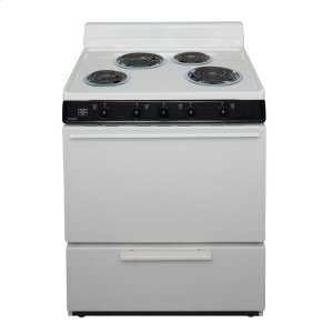 Premier30 in. Freestanding Electric Range in Biscuit