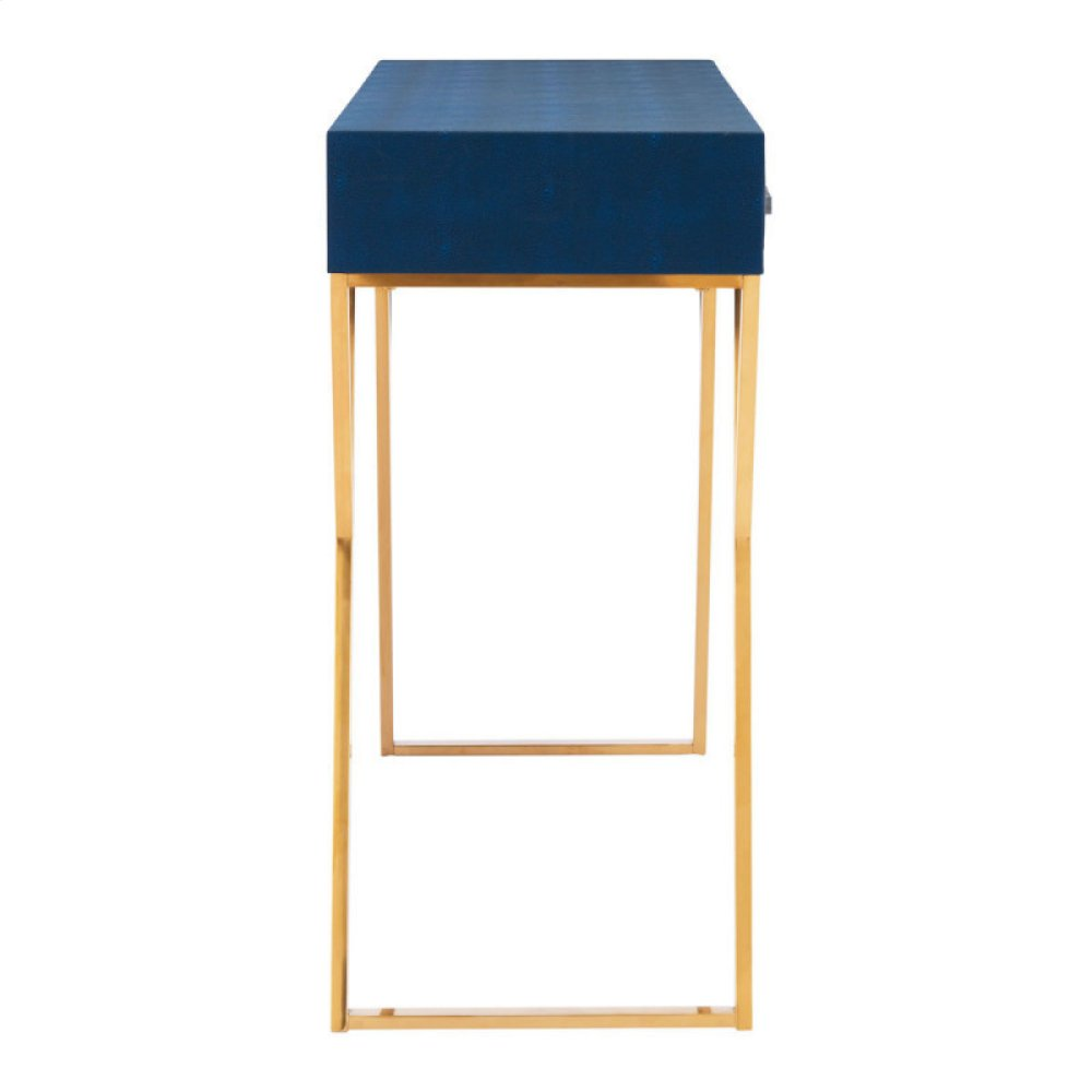 Asti Console Table Navy Blue