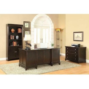 CoasterGarson Transitional Cappuccino File Cabinet