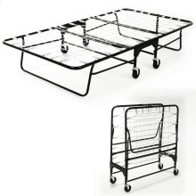 """Rollaway 455 Folding Bed with Tubular Steel Frame and Link Deck Sleeping Surface, 39"""" x 75"""""""