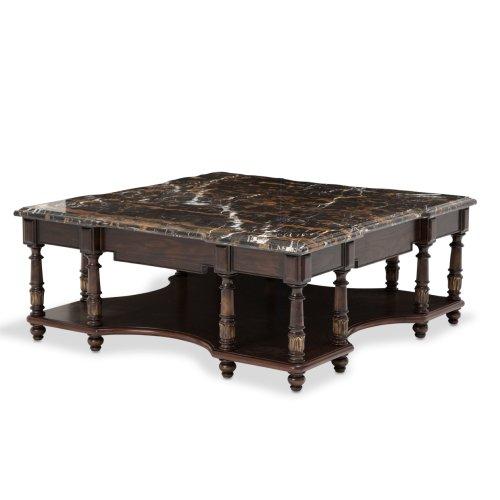Aristocrat Square Cocktail Table Cordovan