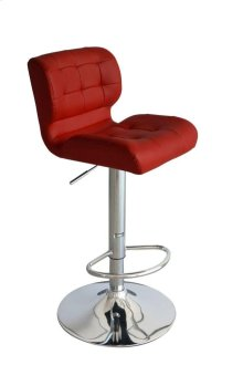 Taylor Red Bar Stool