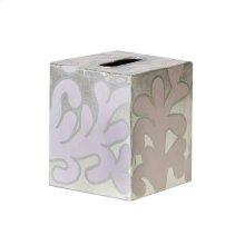 Kleenex Box Lavendar and Silver PATTERN.